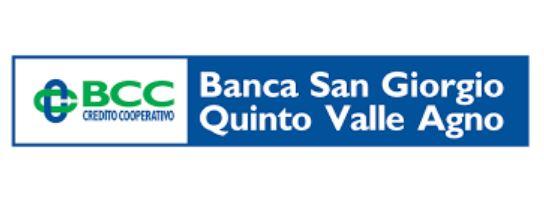 Banca San Giorgio Quinto Valle Agno filiale di Thiene (VI) Piazza Scarcerle